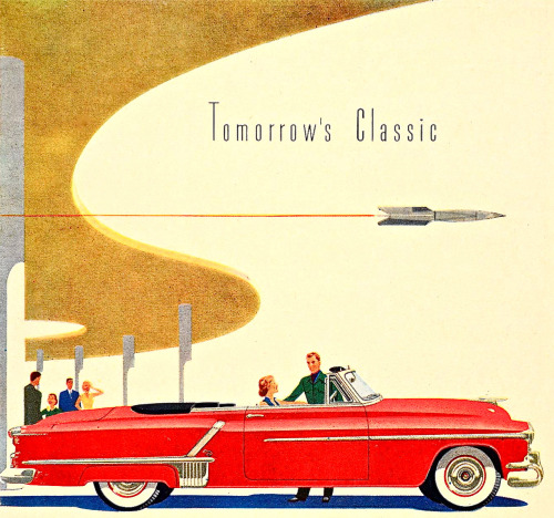 Tomorrow's Classic - 1952 Oldsmobile Ninety-Eight Convertible