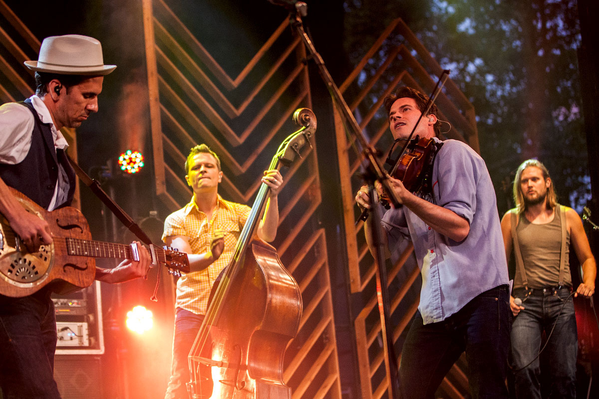 Old Crow Medicine Show - Summer Stage  - Central Park - 08/06/12 - NYC Photo by David Andrako