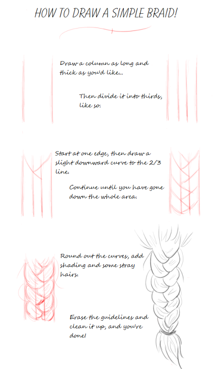 s0cksy:  Simple Braid Tutorial