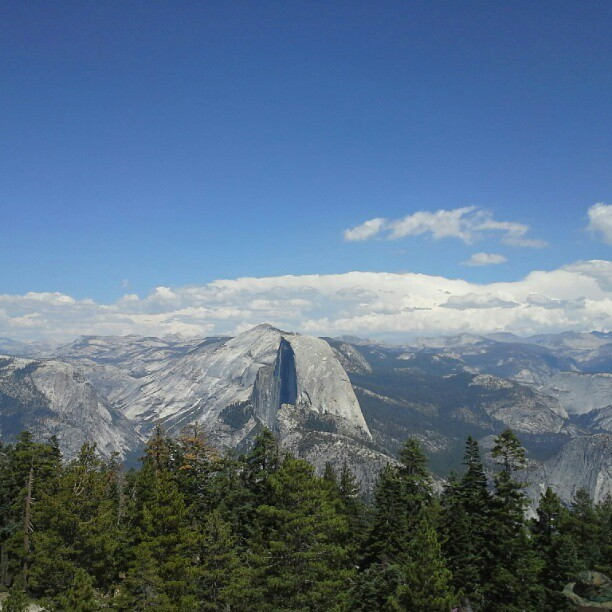 half dome (Taken with Instagram)