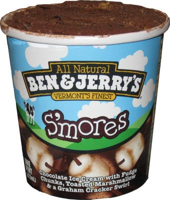Happy nat'l S'Mores day.  For those without campfire access, may I suggest some summer-friendly ice cream to celebrate with?