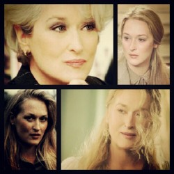 Meryl Streep. The greatest teacher I never met. #art #starpower #theater #film #inspiration #love #mentor  (Taken with Instagram)
