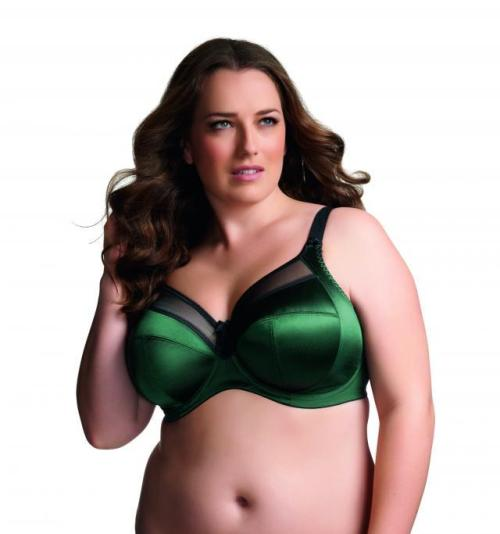Pretty plus size bra from Goddess via: The Girls Bra Shop