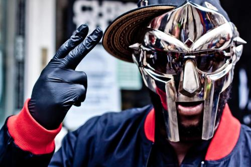 When we met MF DOOM on the Chitlin' Circuit. Picture taken by Caz Brown.