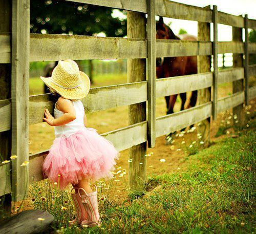 my future little cowgirl <3