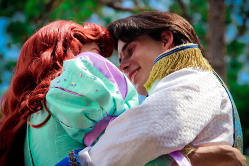 belleieve:  Ariel and Prince Eric (by abelle2)