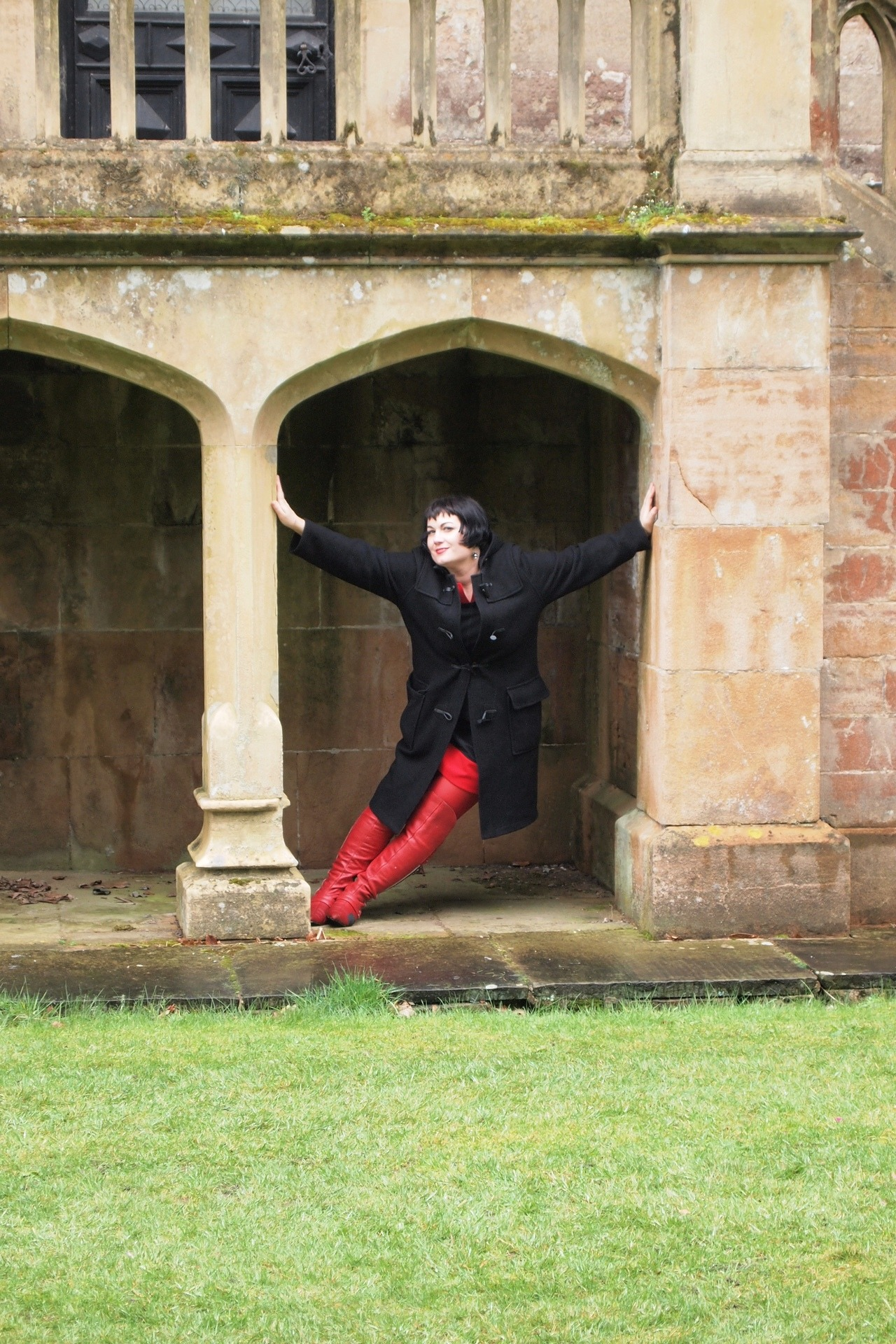 Newstead Abbey in spy boots.  Photo by Supervillain.