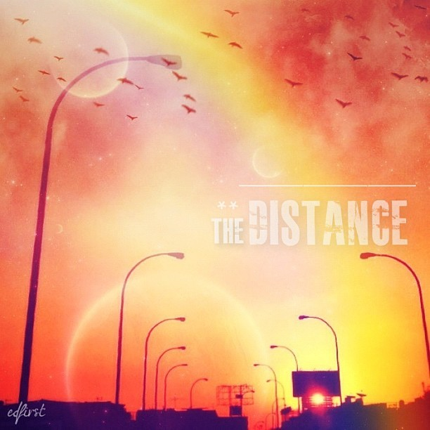 THE DISTANCE ** | #highway #street #sunset #is02 #instajak #iphonesia #iphone4s #iphoneographer #clubsocial #instagram #typofever  (Taken with Instagram at Cipulir)