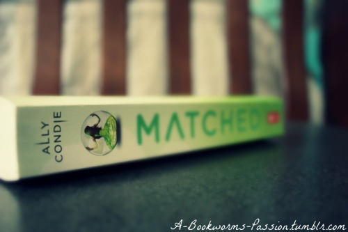 a-bookworms-passion:  Matched by Ally Condie.  Could not put this book down. Cannot wait until the next one arrives on my Nook :)