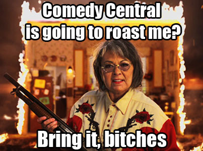Comedy Central is bringing it, tonight at 10/9c during the #RoseanneRoast