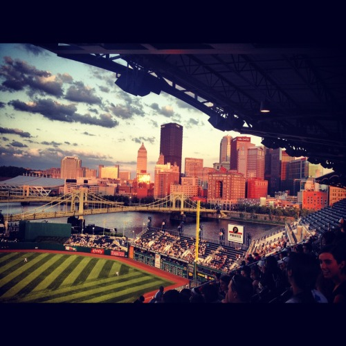 acasualcalamity:  the burgh from PNC Park