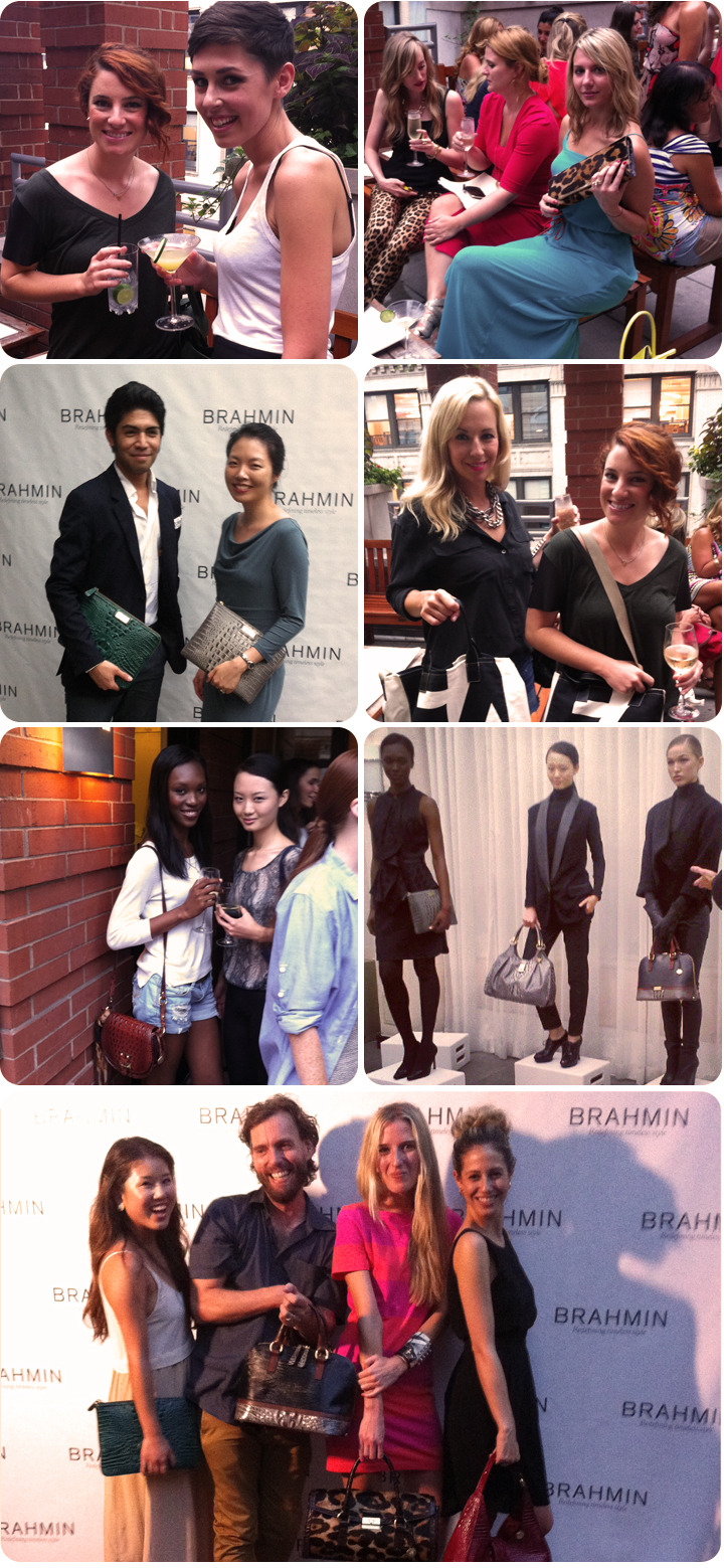 So much fun catching up with some of our favorite fashion insiders and meeting some new ones at the @Brahmin Fall Fashion Preview!