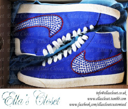 Olympic's Team GB inspired Kicks, Ella's Closet loved customising these. get your with us!! www.facebook.com/ellasclosetcustomised www.ellascloset.tumblr.com info@ellascloset.co.uk