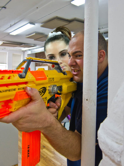 helms-deep:  Mckayla is not impressed with Evan's aim.  This.