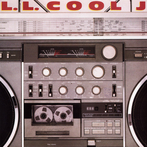 hiphop-album-covers:  LL Cool J Radio - Def Jam, 1985