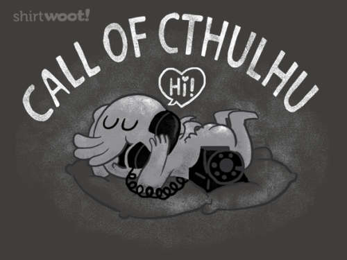 """Call of Cthulhu"" is up for sale at woot for around 14 days. by Anna-Maria Jung"
