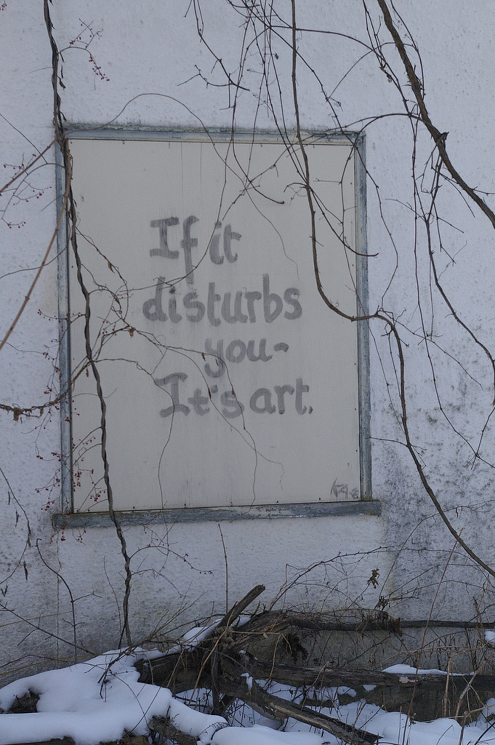 alecshao:  If It Disturbs You