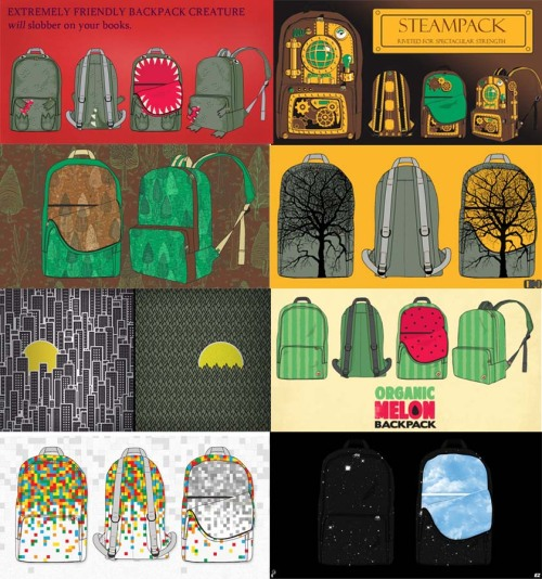 Look at these backpacks - they are awesome. I made one of them, but there are so many awesome backpacks for you to go vote on, and today is your LAST DAY. Click on the picture to go vote!