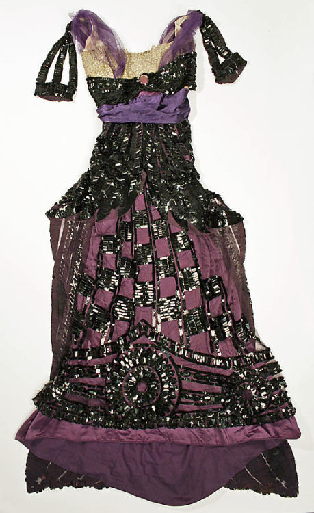 Evening Dress Callot Soeurs, 1912 The Metropolitan Museum of Art
