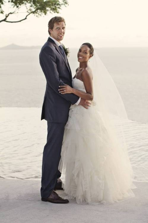 Congrats to Mr. and Mrs. Nowitzki