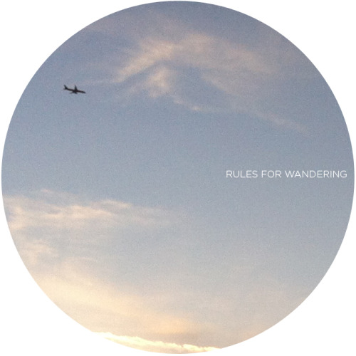 Bekka Palmer had set up a few rules of wandering in her wonderful blog. I thought I might want to do a few myself. So here they are, in no particular order, or some of them are, or not, I don't know, let's just see how it goes: If you see some fancy cafe or restaurants, go! Focus on only one method of documenting. Photos or writing or doodling - not all of them combined. It would take too much of your time documenting and you will lose all the fun wandering. Try to walk as much as you could. You will be able to explore more that way. Be friends with the locals. You have no idea what awesome stuffs they might be able to offer. Pack along extra clothes in the backpack or the trunk of your car in case you have wandered too far and have to stay somewhere over the night. Pack along a kite and a frisbee too (if you go in a group). You never know if you might stumble upon a beach or an open field! If the locals could eat it, so could you. If you decide to take a train, try picking a random stop or creating a game where you will be able to disembark at any random stop and explore what's in the area. For example, Sharon devised a game with her kids for NYC subway lines. Listen to your instinct. If you are hesitating about going to some place, there is a probably a reason your conscience is trying to tell you. Also, if you could, as Bekka said, just ignore the rules. Of course, safety measures applied. But above all, have fun!
