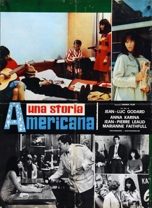 Italian poster for Made in USA, 1966.