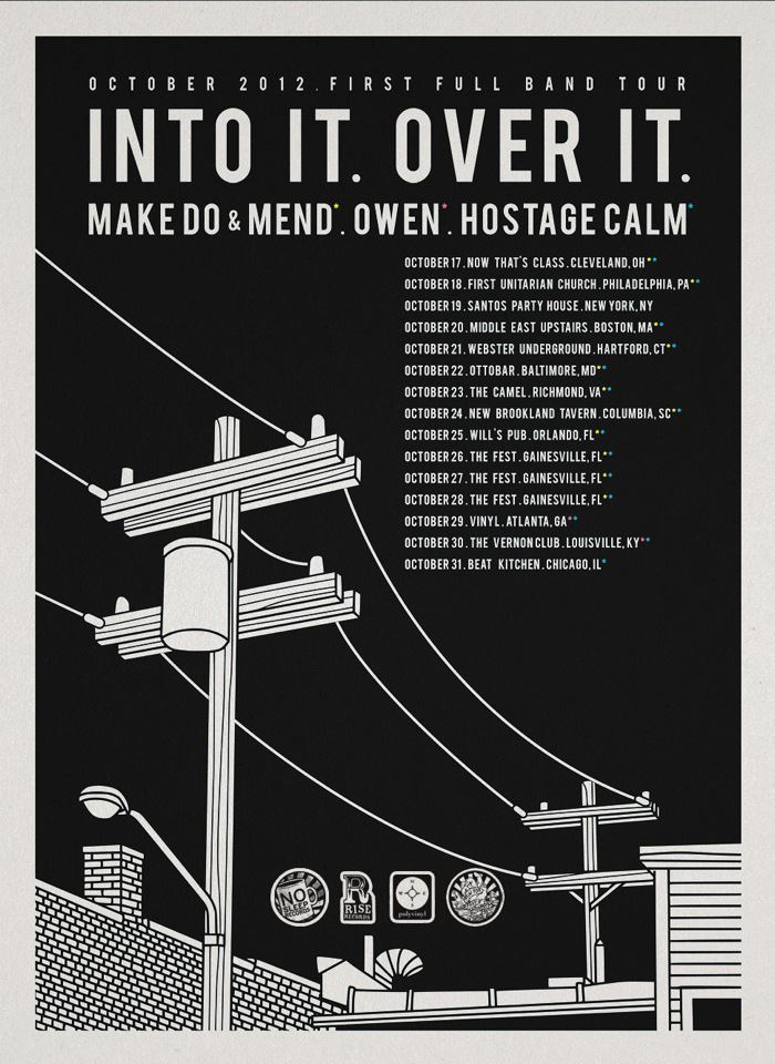 Make Do and Mend are heading out on Tour! Check out the dates here