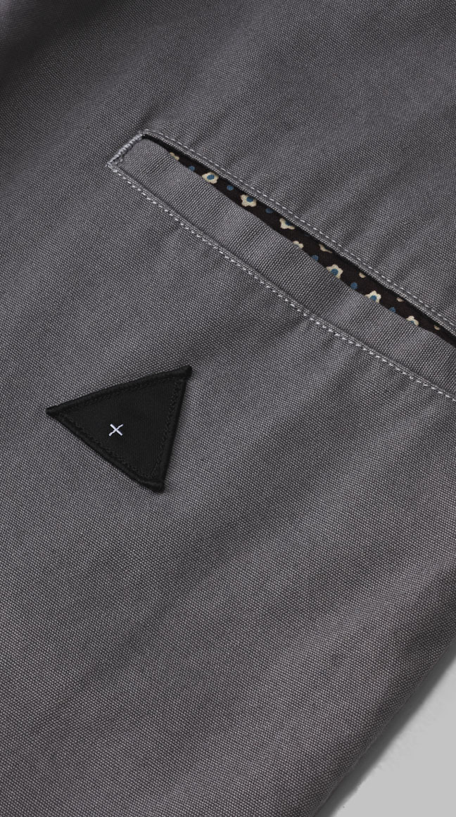 themaxdavis:  Zespy Pant Light Grey (Back pocket close up) Available on the I love ugly store