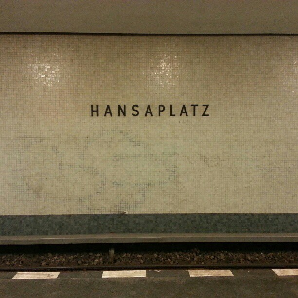 """New Objectivity"" ??? (Taken with Instagram at Hansaplatz)"