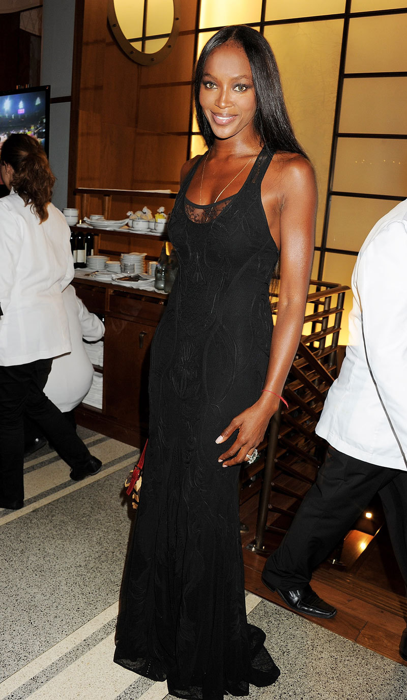 Mr. Blasberg's Best Dressed: Naomi Campbell in Cavalli Photo credit: Getty Images