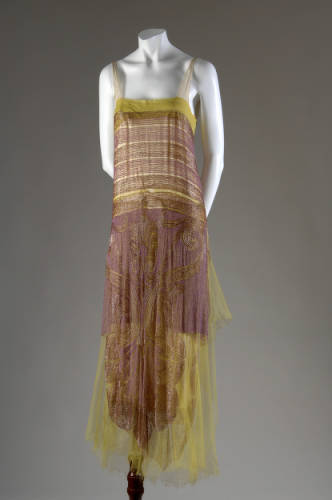 Dress Callot Soeurs, 1925 The Chicago History Museum