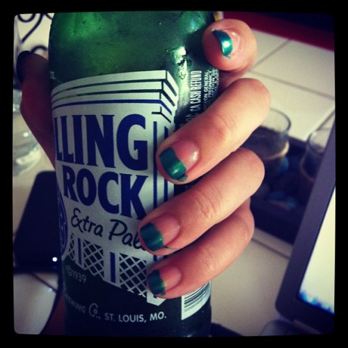 #rollingrock is so underrated #TGIF  (Taken with Instagram at Prospect park)
