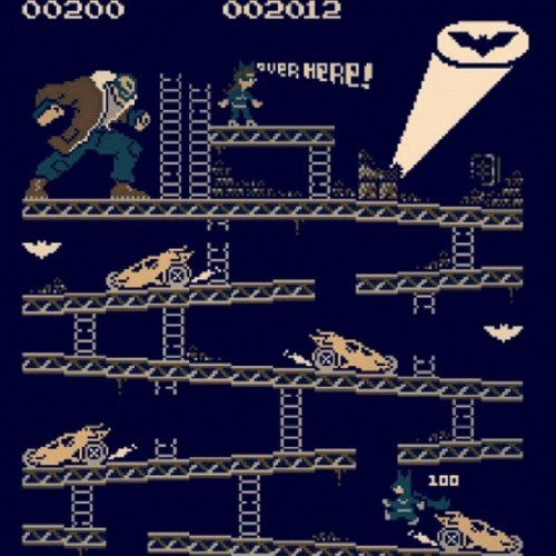 marcusbvstheworld:  If only…! #WishfulThinking #Nintendo #TheDarkKnightRises #Batman #Bane #Tumblr (Taken with Instagram)