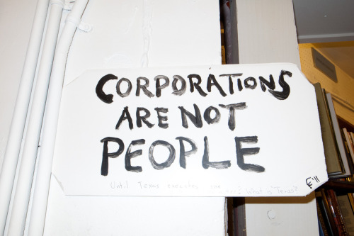 terrysdiary:  Corporations Are Not People