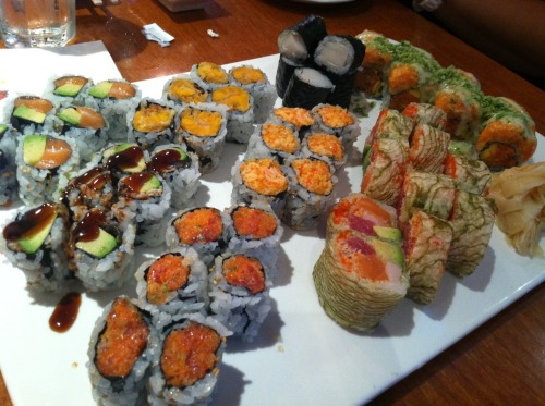 decadentdishny:  sushi! from Sushi You in Queens they honestly have the best sushi  yay!