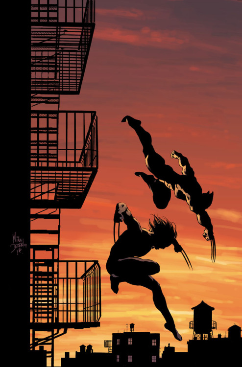 Wolverine: Origins 31 by Mike Deodato Jr.