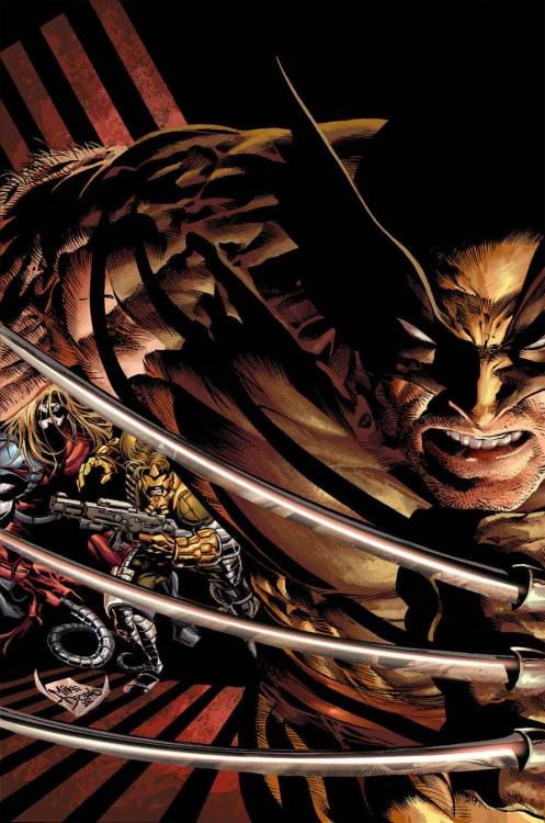 Wolverine Origins 07 by Mike Deodato Jr.
