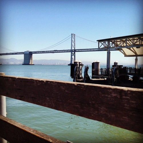 Quick run up to the city!  (Taken with Instagram at Ferry Building)