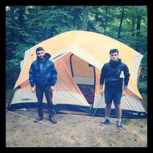 @joshruben man(sion) tent (Taken with Instagram)