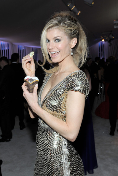 Marisa Miller Godiva 20th Annual Elton John AIDS Foundation Academy Awards Viewing Party via zimbio.com