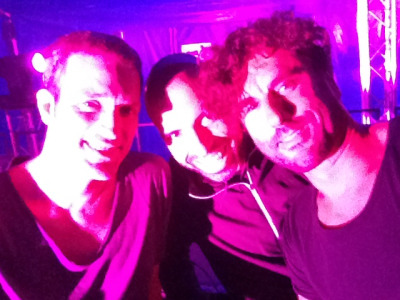 At Nature One with Ben Klock and Chris Liebing