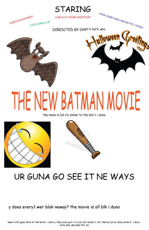 THE NEW BATMAN POSTER by Infrequent Design (Age 21)