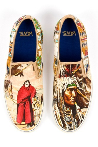 Vans made with Hermès scarves see more…