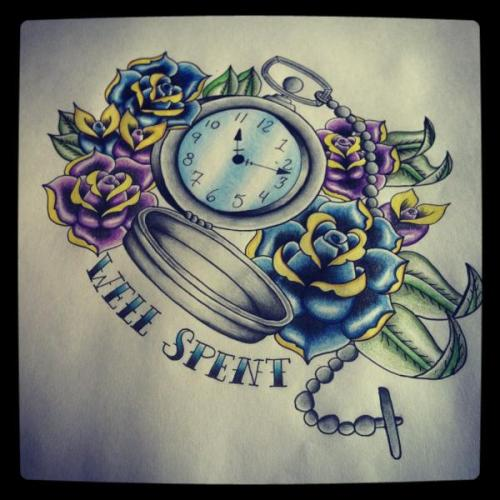 thebirdinthecage:  letter-to-me:  FINISHED.  My friend's drawing that she WILL tattoo on me someday soon.