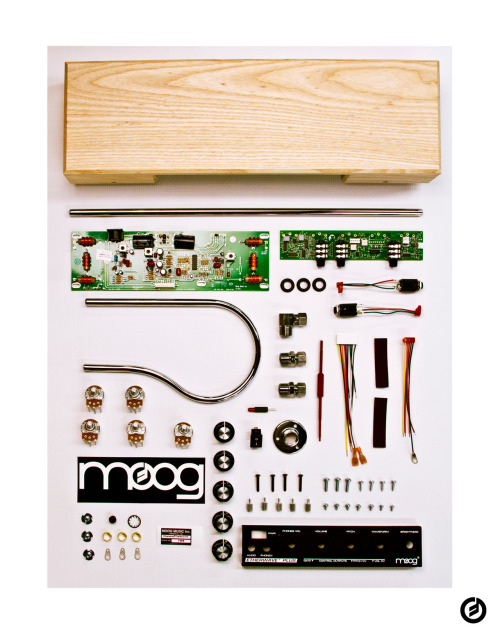 thingsorganizedneatly:  Moog Etherwave Standard Theremin Kit. We only got onto tumblr to take our gear apart and submit to [Things Organized Neatly]. Thanks for the beautiful work and the inspiration. Love, Moog. P.S. More to come… ed: Wow, that's awesome! Thank you! I love playing my friend's Moog keyboard. (Rhymes with Vogue). Everyone follow Moog's new tumblr!