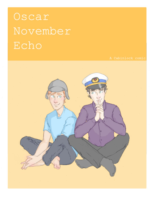Guys I accidentally comic. Oscar November Echo is about Sherlock and Martin, and why Sherlock hasn't introduced Martin to Molly yet. You'll see. Part ONE is currently eight pages long. Updates as they come. Eventual Martin/Molly and probably some less then platonic flatmates. NEXT PAGE HERE