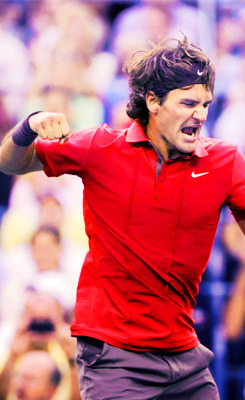 Us Open 2008 - Final   Oh that comemoration…. #PureLove
