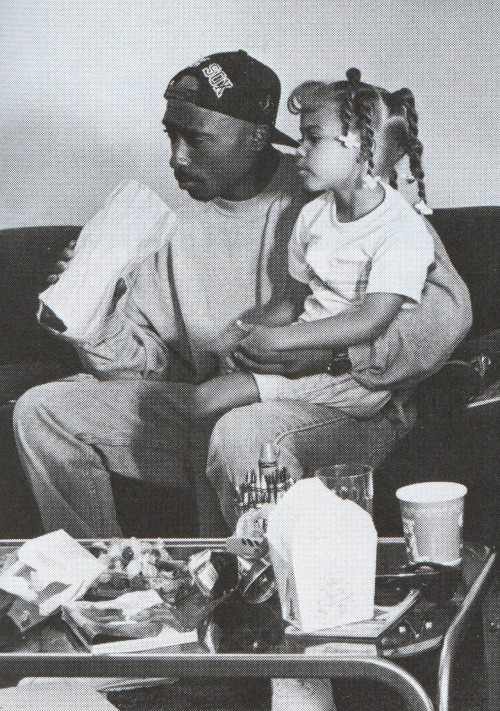 April 1992 on the set of Poetic Justice