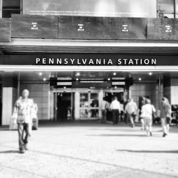 #pennstation #ny #city  (Taken with Instagram)