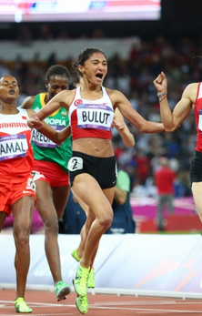 Gamze Bulut of Turkey earns silver in Women's 1500M